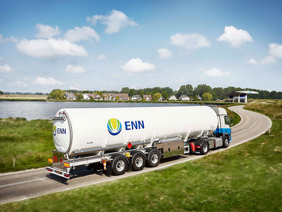 Автоцистерни за транспорт на LNG 1