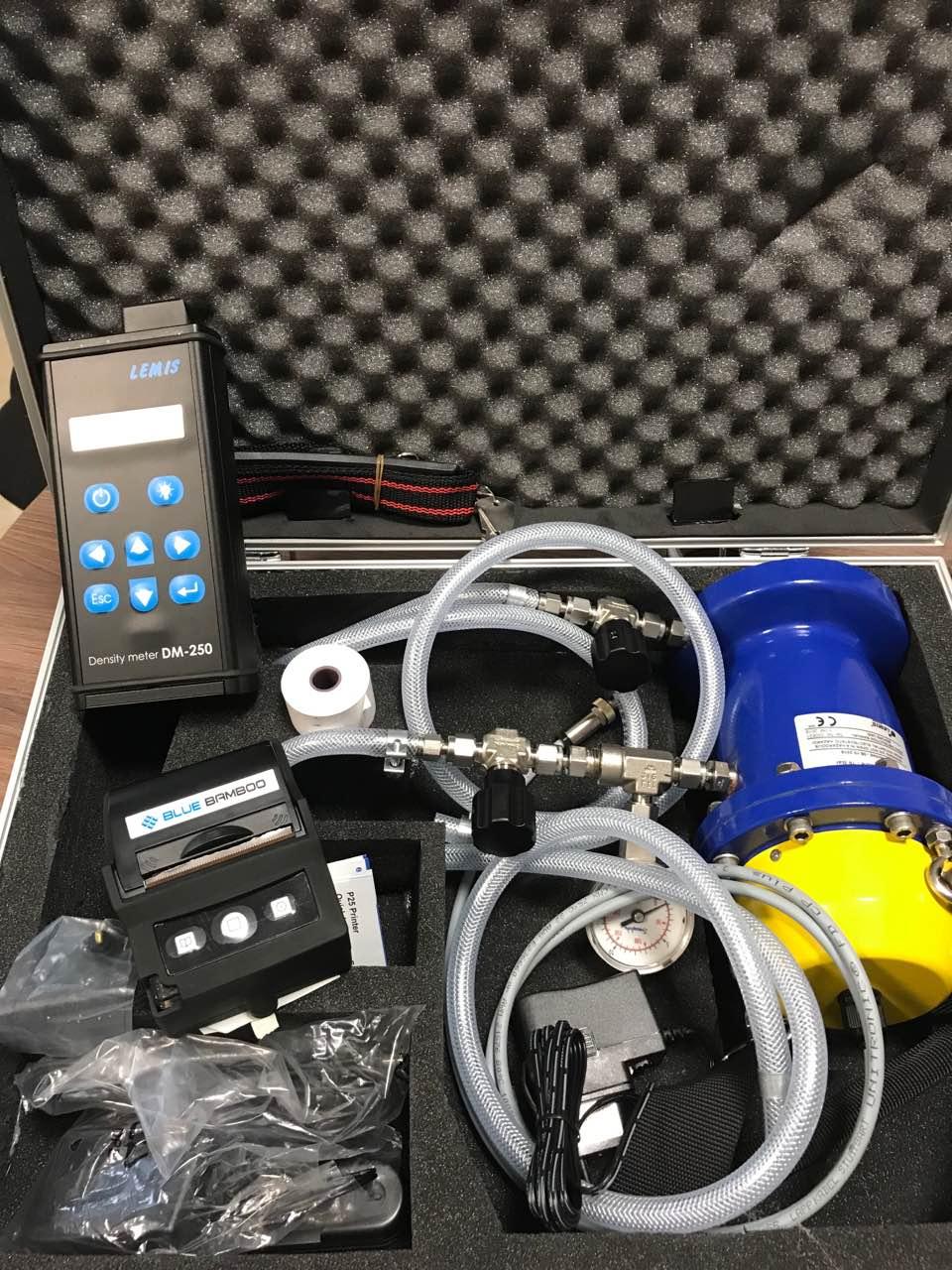 Мобилен дигитален плътномер за газ модел LPGDi DM-250.3 1